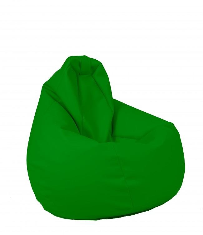 Fotolii Tip Para.Fotoliu Puf Tip Sac Nirvana Hobbit Verde Piele Eco Umplut Cu Perle Polistiren