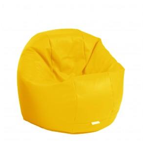 Fotoliu Beanbag Relaxo - Panama Yellow Quince (pretabil si la exterior) umplut cu perle polistiren