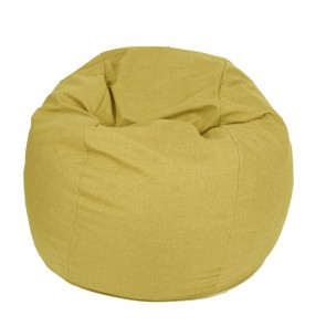 Fotoliu Pufrelax King Size - Sunflower (Gama Savana) umplut cu fulgi de burete memory mix®