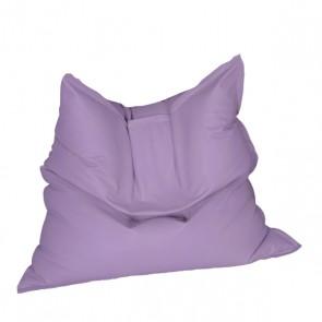 Fotoliu tip Perna Magic Pillow - Violet (piele eco) umplut cu perle polistiren