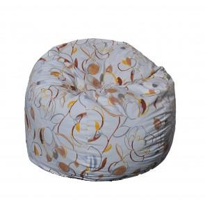 Fotoliu Pufrelax King Size - Blossom (Gama Premium) umplut cu fulgi de burete memory mix®