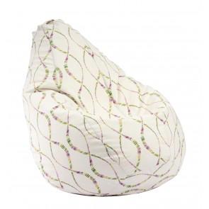 Fotoliu beanbag pentru Copii (4-14 ani) Nirvana Light, 8 Simturi (Gama Premium Textil),husa detasabila, umplut cu perle polistiren