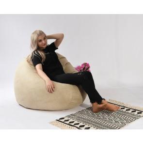 Fotoliu Pufrelax Relaxo XL - Marble (Gama Premium Textil) cu husa detasabila textila, umplut cu perle polistiren
