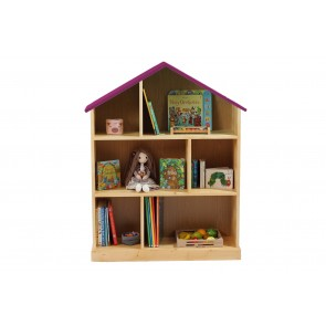 Casuta biblioteca din lemn BookHouse - Lollipop Purple