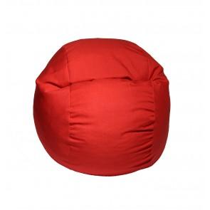 Fotoliu Puf pentru copii (5-16 ani) Matusalem - Montana Red (Gama Premium) umplut cu fulgi de burete memory mix®