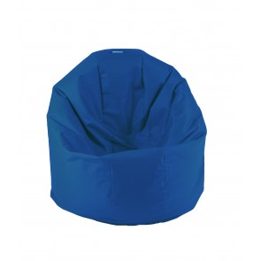 Fotoliu Beanbag Relaxo - Electric Blue (pretabil si la exterior) umplut cu perle polistiren