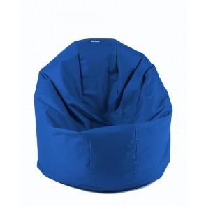 Fotoliu Beanbag Relaxo XL - Electric Blue (pretabil si la exterior) umplut cu perle polistiren