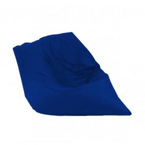 Fotoliu tip Perna Magic Pillow - Teteron Blue Royal  (pretabil si la exterior) umplut cu perle polistiren