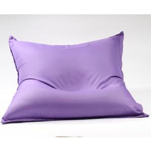 Fotoliu tip Perna Magic Pillow - Panama Violet (pretabil si la exterior) umplut cu perle polistiren