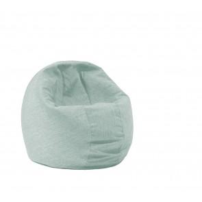 Fotoliu Pufrelax Relaxo - Light Mint (Gama Premium) cu husa detasabila textila, umplut cu perle polistiren