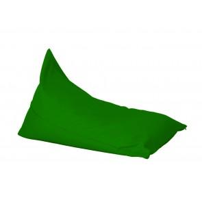 Fotoliu sac, Pufrelax Kudos - Panama Green (pretabil si la exterior) umplut cu perle polistiren
