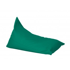 Fotoliu sac, Pufrelax Kudos - Panama Smarald (pretabil si la exterior) umplut cu perle polistiren