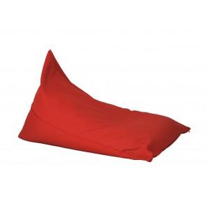 Fotoliu sac, Pufrelax Kudos - Panama Red (pretabil si la exterior) umplut cu perle polistiren