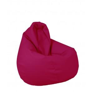 Fotoliu Puf tip Sac Nirvana Hobbit Light - Panama Pink (pretabil si la exterior) umplut cu perle polistiren