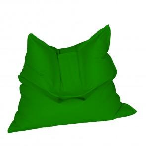 Fotoliu tip Perna Magic Pillow - Panama Green (pretabil si la exterior) umplut cu perle polistiren