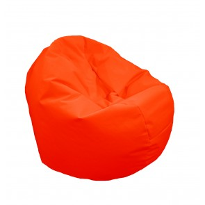 Fotoliu Beanbag Relaxo XL - Neon Orange (pretabil si la exterior) umplut cu perle polistiren