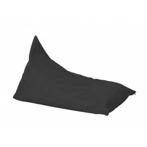 Fotoliu sac, Pufrelax Kudos - Teteron Black (pretabil si la exterior) umplut cu perle polistiren