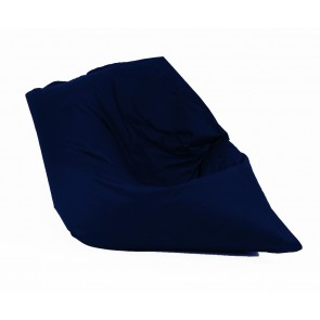 Fotoliu tip Perna Magic Pillow - Panama Indigo (pretabil si la exterior) umplut cu perle polistiren
