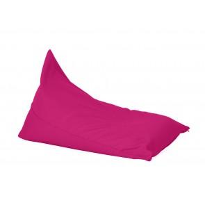 Fotoliu sac, Pufrelax Kudos - Panama Pink (pretabil si la exterior) umplut cu perle polistiren