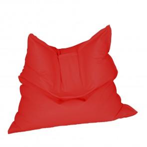Fotoliu tip Perna Magic Pillow - Teteron Red  (pretabil si la exterior) umplut cu perle polistiren