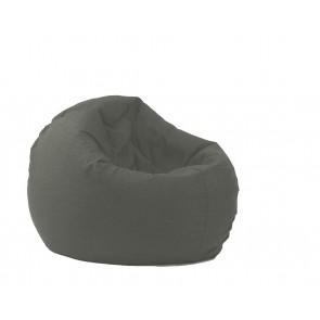 Fotoliu Pufrelax Relaxo - Moon Grey (Gama Premium) cu husa detasabila textila, umplut cu perle polistiren