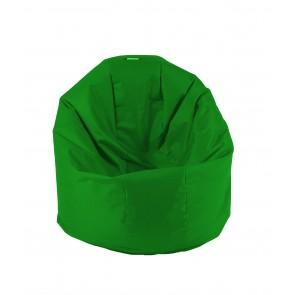 Fotoliu Beanbag Relaxo - Panama Green (pretabil si la exterior) umplut cu perle polistiren