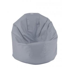 Fotoliu Beanbag Relaxo - Panama Grey (pretabil si la exterior) umplut cu perle polistiren