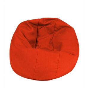 Fotoliu Pufrelax Relaxo - Savada Red (Gama Savana) cu husa detasabila textila, umplut cu perle polistiren