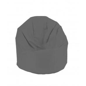 Fotoliu Beanbag Relaxo XL - Teteron Grey (pretabil si la exterior) umplut cu perle polistiren