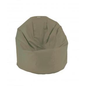 Fotoliu Beanbag Relaxo XL - Teteron Cappuccino (pretabil si la exterior) umplut cu perle polistiren