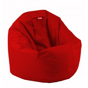 Fotoliu Beanbag Relaxo - Panama Red (pretabil si la exterior) umplut cu perle polistiren