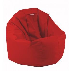 Fotoliu Beanbag Relaxo XL - Teteron Red (pretabil si la exterior) umplut cu perle polistiren
