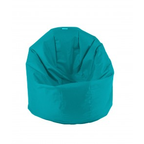 Fotoliu Beanbag Relaxo XL - Panama Aqua (pretabil si la exterior) umplut cu perle polistiren
