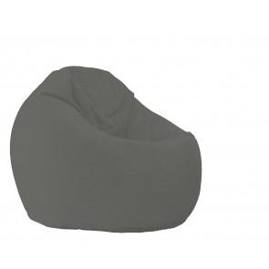 Fotoliu Pufrelax Relaxo XL - Moon Grey (Gama Premium) cu husa detasabila textila, umplut cu perle polistiren