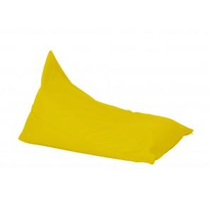 Fotoliu sac, Pufrelax Kudos - Yellow Quince (pretabil si la exterior) umplut cu perle polistiren